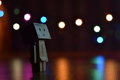 #danbo #bokeh #night #littleboy #myshutter #hi #flicker (yasinabay1) Tags: night bokeh hi littleboy flicker danbo myshutter