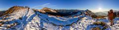 (JIMI_lin) Tags: sunset panorama snow widescreen taiwan       hehuanmountain