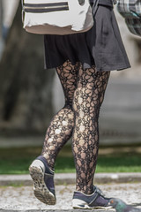 spring time (captain.gbz) Tags: street woman sexy legs pantyhose nylon