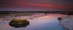 Long Reef Yellow Rock (FPL_2015) Tags: ocean sunset seascape water landscape rocks sydney australia nsw lowtide longreef northernbeaches canon6d leegnd09 haidand18 canon1635f4lis