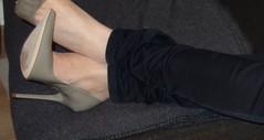 Rosina at home (Rosina's Heels) Tags: high pumps heel stiletto