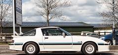 Mazda RX-7 (FatHarris_) Tags: car outside outdoors nikon transport 80s mazda angular rx7 sporty jdm wankel nikond200 fatharris