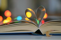 The book of love (rickpatton1) Tags: love lights book colours heart pages bokeh bookoflove