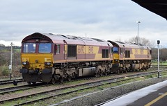 66092 (Lukas31 Transport Photography) Tags: railway trains didcot class66 ews 66092