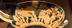 IMG_8823 (jaglazier) Tags: vienna wien men art archaeology writing painting greek austria ceramics crafts january hats athens greece cups armor attic pottery soldiers warriors presentation museums adults doris armour vases signatures shields inscription earthenware helmets 1516 youths kunsthistorischesmuseum 2016 greaves helments kylix redfigure ephebus vasepainting corslets archaeologymuseums copyright2016jamesaglazier