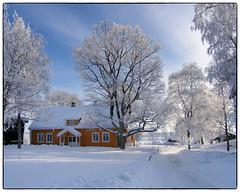 Gamle Hvam (2006) #1 (Krogen) Tags: winter history norway norge vinter norwegen nes akershus historie romerike krogen olympusc7070 gamlehvam