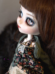 Naia (Nepenthe (Sutura Workshop) - NEW ACCOUNT!) Tags: cute eye girl hair japanese eyes doll natural sweet ooak makeup carving lips chips full plastic lolita kawaii groove pullip freckles custom fc mori eyebrows lids custo naia eyelids mueca nepenthe maquillaje sutura faceup glasschips suturaworkshop