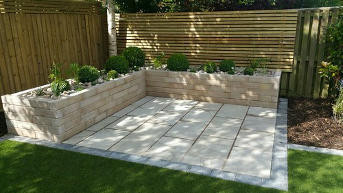 Landscape Gardening Wilmslow -  Decking Paving and Artificial Lawn Image 16