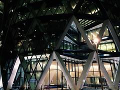 triangles (Alexey Tyudelekov) Tags: city london triangles gherkin