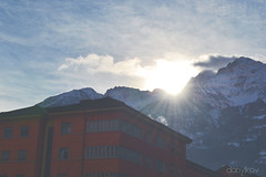 996 (VDanylko) Tags: morning italy sun mountains alps rays