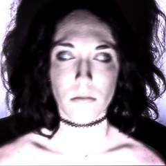 J53 (charlotte.boullier) Tags: portrait colors girl strange face dark photography weird eyes fear ghost yeux messy horror brunette scared challenge flou fantme visage horreur peur whiteeyes 365days 365project 365challenge projet365