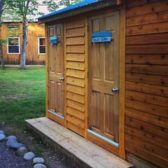 Yurt Bath house (CabotShores) Tags: shower dome yurt bathhouse necessity