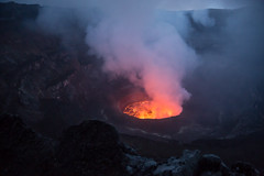 Nyiragongo Volcano in Virunga National Park, in eastern DRC (jeromestarkey) Tags: congo drc rdc virunga nyiragongo democraticrepulicofcongo