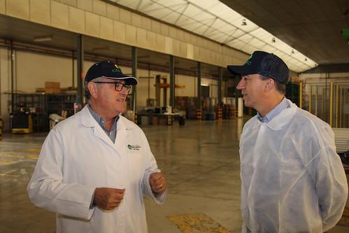 Visita Rafael Climent a CANSO - L'Alcúdia (12-01-2016)