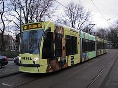 GVBA tram 2093 Amsterdam Frederiksplein (Arthur-A) Tags: boy man men guy netherlands amsterdam underwear diesel nederland tram streetcar tramway strassenbahn electrico tranvia gvb onderbroek combino tramvia ondergoed gvba reclametram