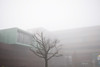 Quartier Dominos Rennes - atana studio (Anthony SÉJOURNÉ) Tags: fog buildings studio foggy dominos pile anthony brouillard rennes apparition brume travaux beton batiment fantome quartier bruine banque atana séjourné