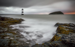 Penmon Point (Dave Holder) Tags: longexposure sea lighthouse seascape seaweed water wales clouds sunrise canon waterblur waterscape anglesey canonefs1022mm penmonpoint leefilters canon70d leebigstopper