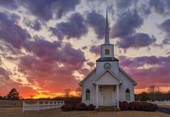 800_7156 four winds (snolic...linda) Tags: sunset church 501 fourwinds conwayarkansas