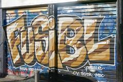 Fusible (Sbastien Casters (browse by artist)) Tags: street urban streetart paris france art de graffiti store shutter s1 rideau regal cv tr fer fost urbain sayo mdc fusible fusibl