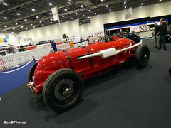 Bentley Single Seater Replica (BenGPhotos) Tags: show red london classic sports car vintage is performance fast automotive 45 replica event single british peterson bentley litre blower motoring 2016 birkin seater mg4020