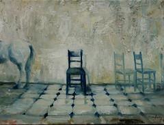Tena un caballo (ca.chezmay) Tags: horse painting caballo paint oil pintura oleo casm