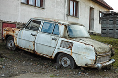Cultivated classic (The Adventurous Eye) Tags: old classic abandoned car mb 1000 vetern koda star