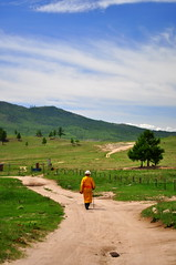 The wandering monk (charlottehbest) Tags: travel travelling scenery worship driving offroad 4x4 religion culture monk buddhism roadtrip adventure mongolia monastery overland roadtripping 2015 thelongwayhome fromeasttowest theadventuresofhenryjruffington baldanbereevenmonastery baldanbereeven