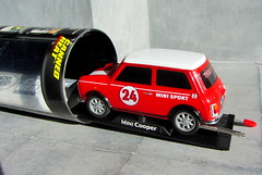 Canned Heat Radio Controlled Mini Cooper By Tyco R/C Mattel Incorporated 1998 : Diorama Boneville Salt Flats - 19 Of 21 (Kelvin64) Tags: by radio salt mini flats cooper heat canned 1998 rc mattel diorama incorporated controlled tyco boneville