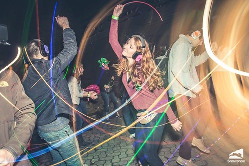 """Photo credit: Kurtis Schachner. Taken at the silent disco at Snowshoe Mountain featuring DJ V. Powered by Silent Storm • <a style=""""font-size:0.8em;"""" href=""""http://www.flickr.com/photos/33177077@N02/25335820494/"""" target=""""_blank"""">View on Flickr</a>"""