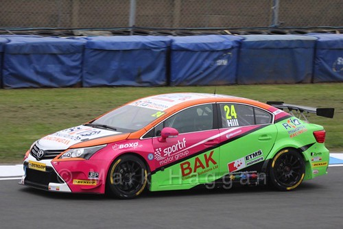 Jake Hill at the BTCC Media Launch Event 2016