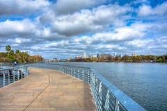 63/365.2016 Heart of Texas Regatta (OscarAmos) Tags: water skyline austin downtown texas coloradoriver townlake hdr lightroom 18200mm photomatix tonemapped detailenhancer topazadjust project3652016 nikond7200 oscaramosphotography