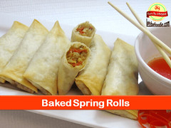 Baked_Spring_Rolls (letsbefoodiee) Tags: cooking breakfast dinner recipe lunch indian puff desserts brunch sweets snacks recipes teatime momos khana maincourse mithai nashta eveneingsnacks