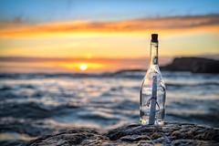 Message in a bottle II (Richard Larssen) Tags: light sunset sea sun seascape norway zeiss coast norge bottle message sony norwegen richard alpha scandinavia jren rogaland a7ii ogna larssen teamsony richardlarssen sel5518z