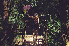 (youlearn2love) Tags: trees up balloons balloon levitate bexigas