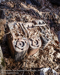 Toxic Waste Dump Near Our Home (Southern New England Photography) Tags: old usa abandoned broken rotting trash neglect ma junk unitedstates decay massachusetts urbandecay unitedstatesofamerica apocalypse newengland dump abandon forgotten rusted messy depression northamerica heap destroyed nasty toxicwaste foxboro degraded
