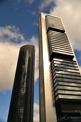 (Carla Ibez Acinas) Tags: madrid blue sky espaa azul spain torre espana cielo nube clound rascacielos rascacielo