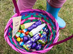 78/366 Easter Basket - 366 Project 2 - 2016 (dorsetpeach) Tags: easter spring basket chocolate egg 365 hunt easteregghunt kinderegg egghunt easteregg 2016 366 aphotoadayforayear 366project second365project easterbarket