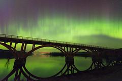 Just another Aurora Borealis (Madeleine Forsgren) Tags: sverige auroraborealis värmland norrsken fryken nilsby madeleineforsgren nilsbybro madeleineforgren