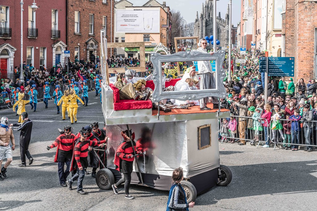 GAME ON BY CITY FUSION [DUBLIN 2016 PATRICK'S DAY PARADE]-112578