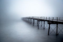 Saltburn in the Mist (Stephen Tierney.) Tags: longexposure mist pier saltburnpier stephentierney wwwstephentierneycouk