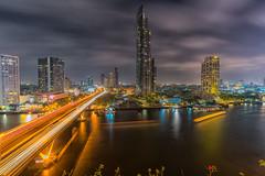 Chao Phraya River - Bangkok (+LuisFaria) Tags: river bangkok chao chaophrayariver phraya