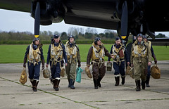 'Aircrew' (andrew_@oxford) Tags: heritage force aviation air events royal lincolnshire east lancaster timeline bomber command raf dispersal avro aircrew kirkby