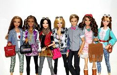We never go out of style (meike__1995) Tags: summer dolls nikki ken barbie style teresa mattel midge 2016 raquelle