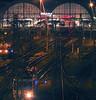 promiscuity (tallawah75) Tags: urban station night train square tren prague tracks railway praha praga nocturna urbana estación ferrocarril hlavnínádraží cuadrada víasdeltren ltytr1