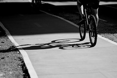 Sunday bike (Lucas Lima 91) Tags: blackandwhite bw brasil nikon saopaulo sopaulo 85mm sampa sp paulista avenidapaulista d7100