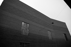 #kunstmuseum opening in #basel today (Elo_M.) Tags: bw art lines architecture concrete noiretblanc basel structure creativecommons beton kunstmuseum symetrie creativecommonsbysa creativecommonslicence geomtrie