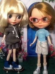 Blythe-a-Day March #5 Games: Little Bea & Cori-Elaina