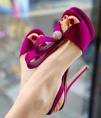 Feet & Shoes (3314) (I Love Feet & Shoes) Tags: street sexy feet stockings pie shoes highheels sandals tights lingerie heels ps huf hoof bas pieds mules pantyhose schuhe casco piedi meias medias scarpe sandalias chaussures sapatos sandlias zapatillas sandalen  sandales  sabot sandali  strmpfe    calcanhares  fse