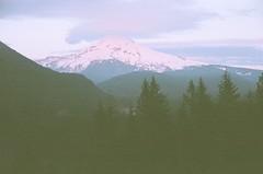 80750015 (aspininaspiritcar) Tags: sunset summer sky mountain snow film clouds oregon 35mm pass rangefinder yashica mounthood lolopass