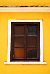 Sighisoara Windows 20 (PM Kelly) Tags: street travel windows light abstract color colour art window yellow ventana one 1 romania frame sighisoara